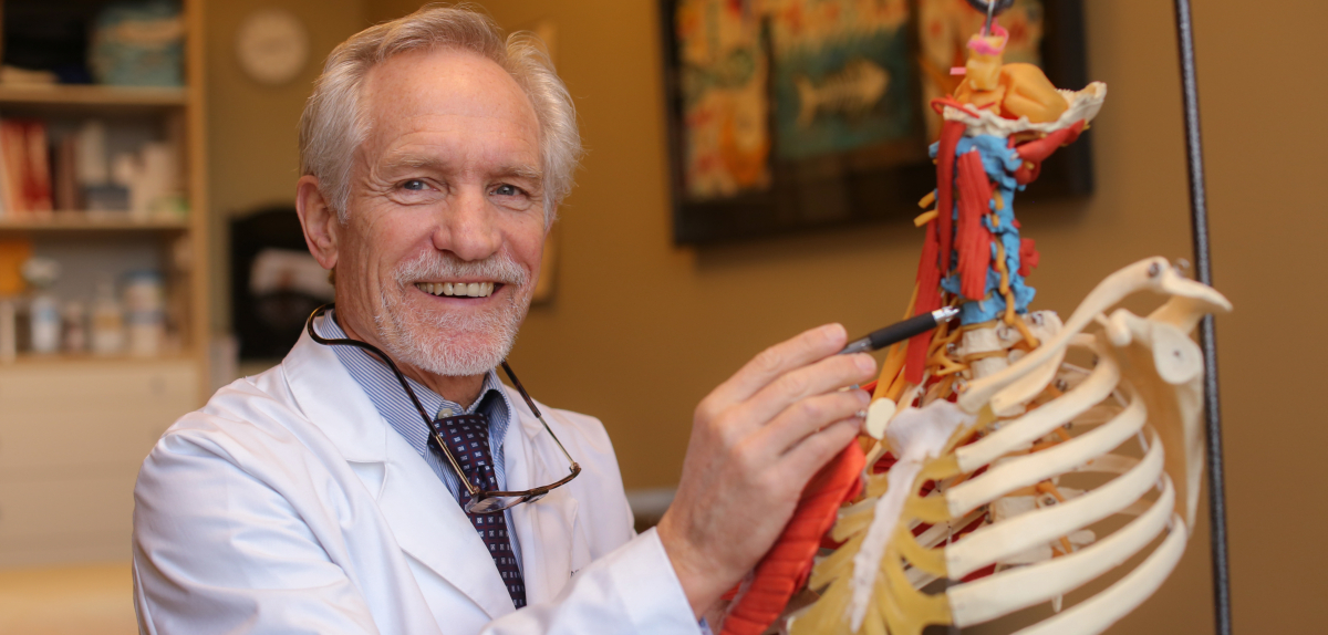 Dr. Noel Peterson, world-renowned regenerative medicine instructor