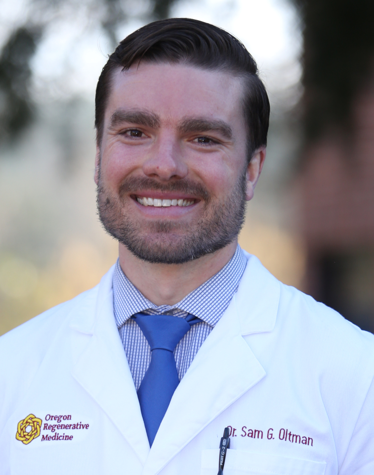 Dr. Sam Oltman, Regenerative Medicine, Naturopathic Doctor at Oregon Regenerative Medicine