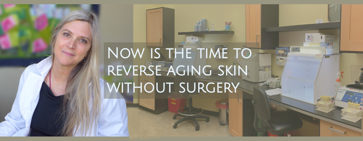 stem cell face-lifts performed by Dr. Dhai Barr shown here in Oregon Regenerative Medicine's laboratory
